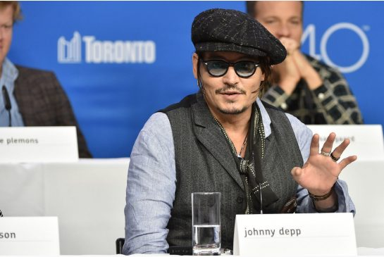 Johnny Depp charms TIFF press event as he talks of playing Boston gangster